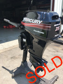 "2001 Mercury 25 HP 2 Cylinder Carbureted 4 Stroke 15"" Bigfoot Tiller Outboard Motor"