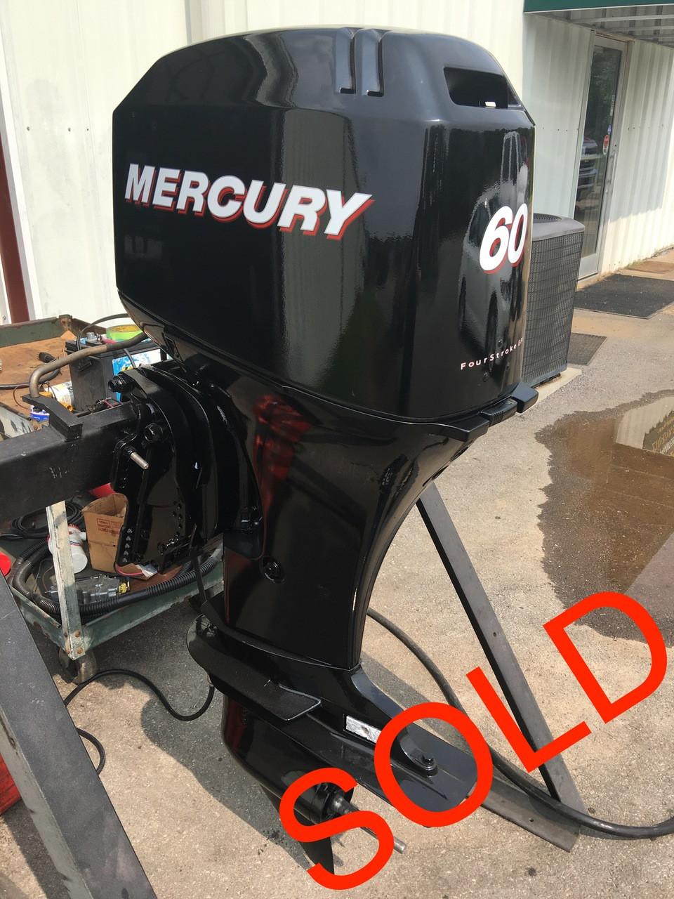 2003 Mercury 60 HP 4 Cylinder 4 Stroke EFI 20