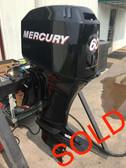 "2003 Mercury 60 HP 4 Cylinder 4 Stroke EFI 20"" Bigfoot Outboard Motor"