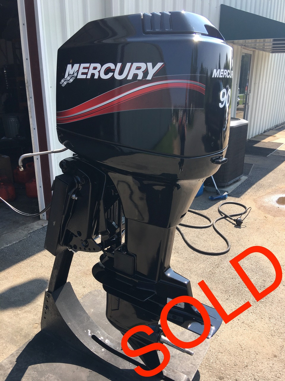 90 Hp Mercury Outboard >> 2003 Mercury 90 Hp 3 Cylinder 2 Stroke Carbureted 20 Outboard Motor