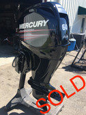"2011 Mercury 60 HP 4 Cyl 4 Stroke 20"" Bigfoot Outboard Motor"