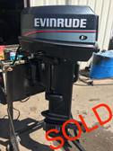 """1997 Evinrude 25 HP 2 Cylinder Carbureted 2 Stroke 20"""" Outboard Motor"""