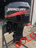 "2000 Mercury 50 HP 3 Cylinder 2 Stroke 20"" Outboard Motor"