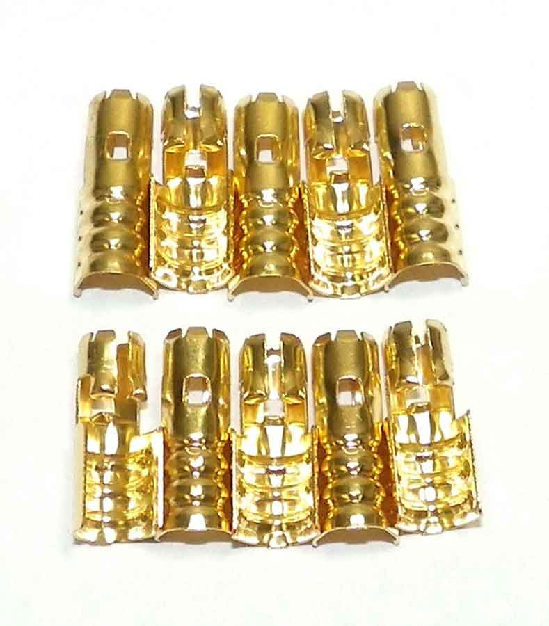 New Brass Spark Plug Wire Terminals for Johnson/Evinrude