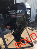 "2008 Mercury 60 HP 4 Cylinder 4-Stroke 20"" Bigfoot Outboard Motor"