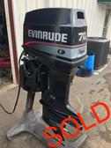 """1996 Evinrude 70 HP 3 Cylinder 2 Stroke 20"""" Outboard Motor"""