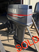 "1999 Yamaha 40 HP 3 Cylinder Carbureted 2 Stroke 20"" Outboard Motor"