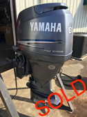 "2003 Yamaha 80 HP 4 Cylinder Carbureted 4 Stroke 20"" Outboard Motor"
