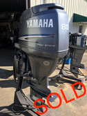 "2001 Yamaha 80 HP 4 Cylinder Carbureted 4 Stroke 20"" Outboard Motor"
