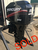 "2001 Mercury XR6 150 HP V6 Carbureted 2 Stroke 20"" Outboard Motor"