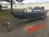 1992 Fisher Marsh Hawk 3V 17' Bass Boat w/1992 Mercury 60 HP Motor & Trailer