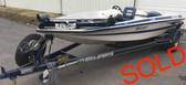 1992 Hydra-Sports X270 17' Fiberglass Boat w/Trailer