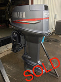"2000 Yamaha 50 HP 3 Cylinder Carbureted 2 Stroke 20"" Outboard Motor"