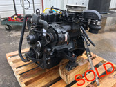 2001 GM/Volvo SX Carbureted 4 Cyl 3.0L Complete Inboard/Outboard Motor