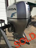 """2007 Honda 150 HP VTec 4 Cylinder 4 Stroke 20"""" Outboard Motor"""