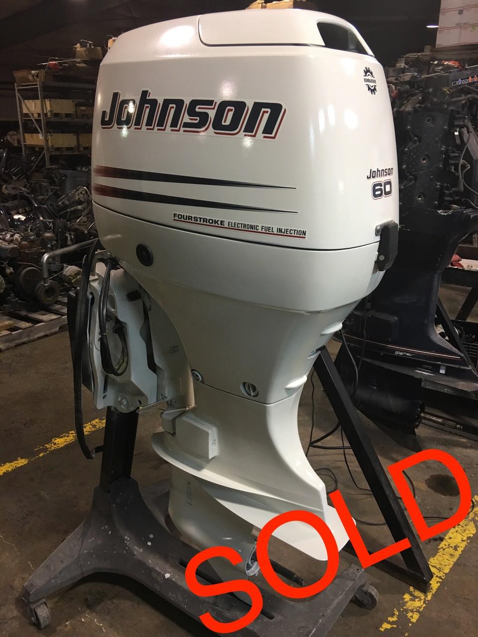 2003 Johnson/Suzuki 60 HP 4 Cylinder 4 Stroke 20