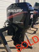 "2001 Mercury 90 HP 4 Cylinder Carbureted 4 Stroke 20"" Outboard Motor"