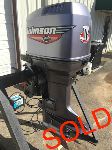 2000 Johnson 175 Hp V6 Carbureted 2 Stroke 20 Quot Outboard Motor