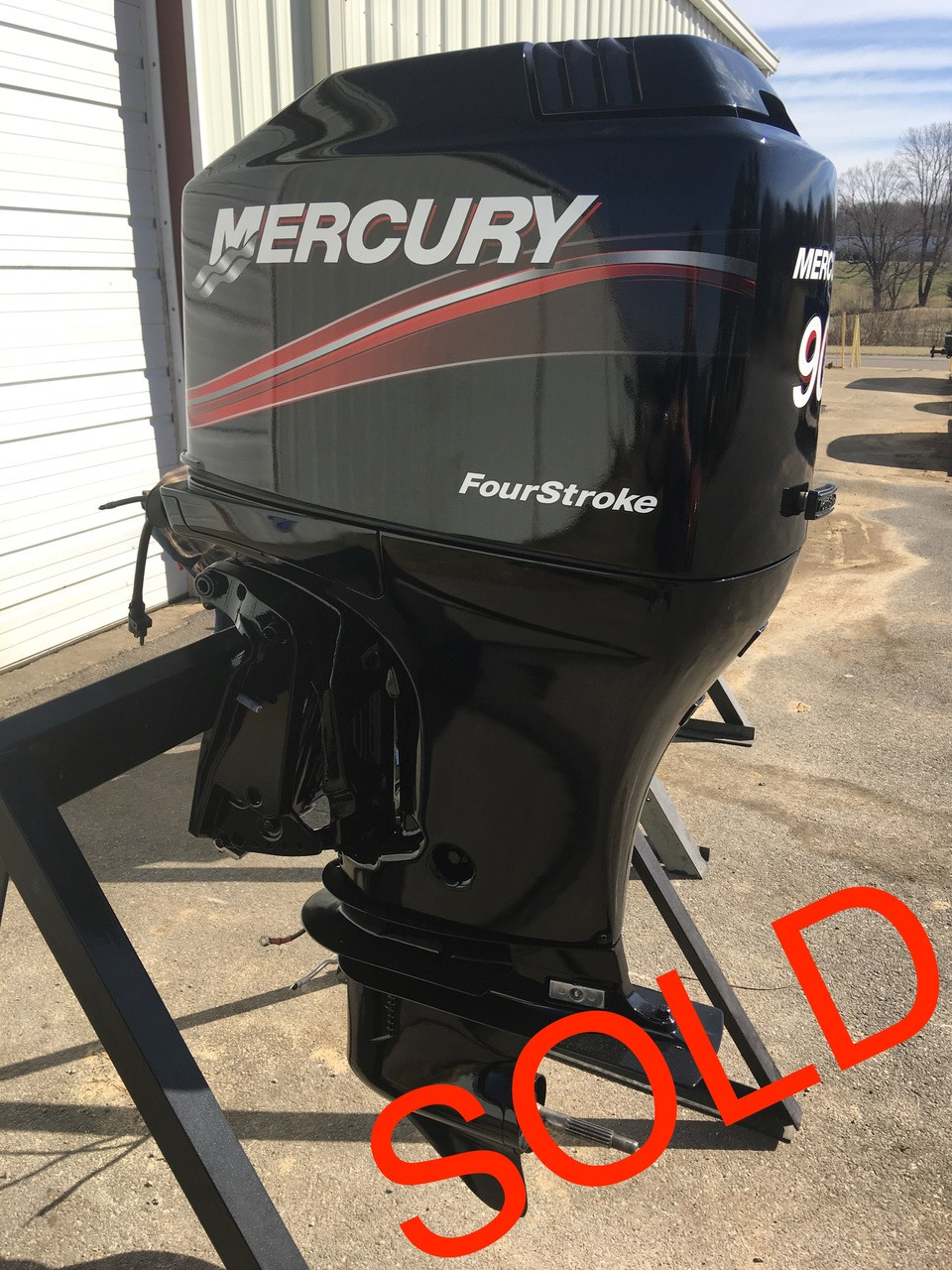 90 Hp Mercury Outboard >> 2001 Mercury 90 Hp 4 Cylinder Carbureted 4 Stroke 20 Outboard Motor