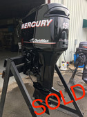 "2006 Mercury 150 HP Optimax V6 DFI 2 Stroke 25"" Outboard Motor"