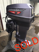 "1999 Johnson 50 HP 2 Cylinder Carbureted 2 Stroke 20"" Outboard Motor"