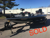 2006 Ranger 519VX Comanche 19' Fiberglass Bass Boat w/2006 Mercury Optimax 200 HP Motor and Trailer