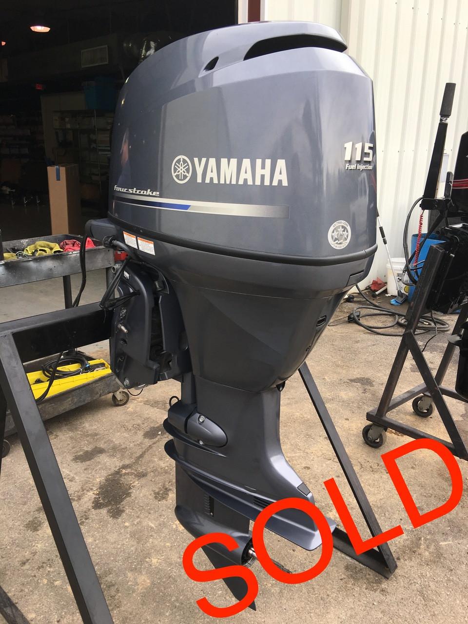 2014 Yamaha 115 HP 4 Cylinder EFI 4 Stroke 25