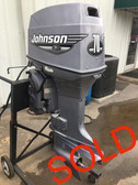 "2000 Johnson 70 HP 3 Cylinder Carbureted 2 Stroke 20"" Outboard Motor"