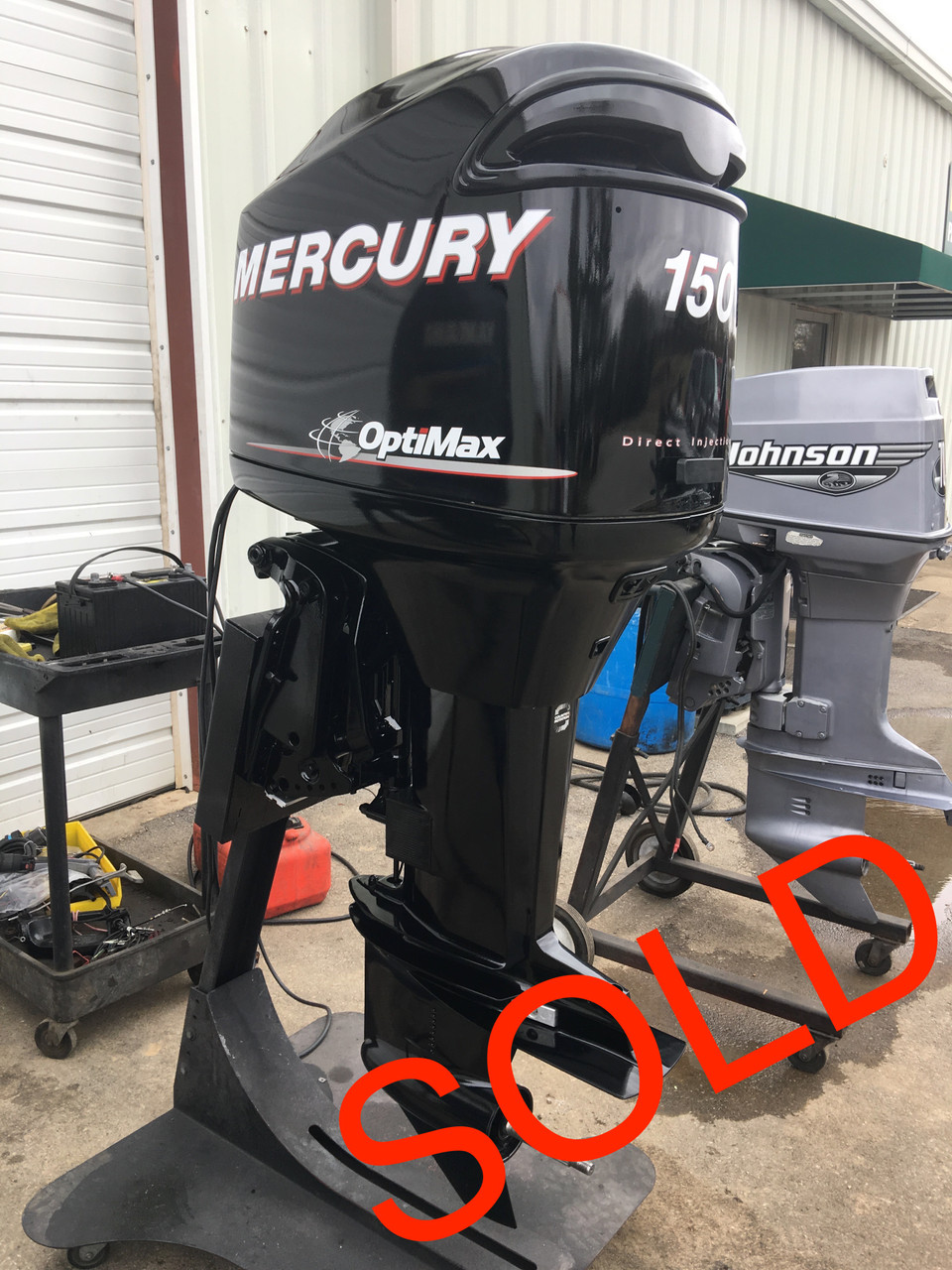 2006 Mercury 150 HP Optimax V6 DFI 2 Stroke 25
