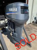 "2003 Yamaha 130 HP V4 Carbureted 2 Stroke 25"" Outboard Motor"
