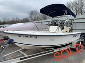 2000 Legacy SeaFox 172CC 17' Fiberglass Center Console Boat with Trailer