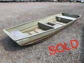 2005 Fisher 1436LW 14' Aluminum Jon Boat