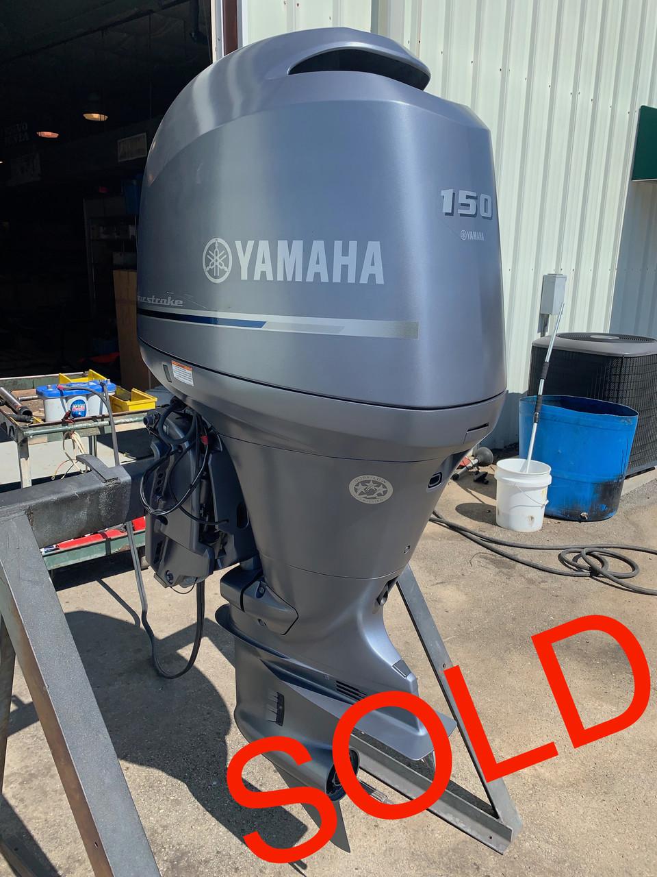 2011 Yamaha 150 HP 4 Cylinder EFI 4 Stroke 20