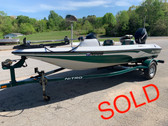 2006 Tracker Nitro 640LX 16' Fiberglass Bass Boat with Mercury 60 HP Outboard Motor and Trailer
