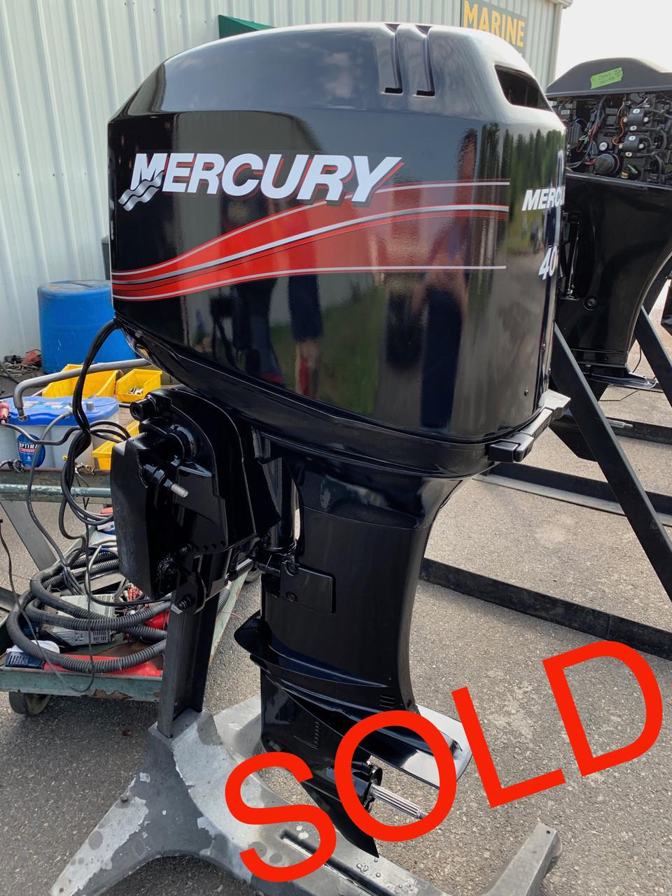 1999 Mercury 40 HP 3 Cylinder Carbureted 2 Stroke 20