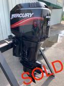 "2005 Mercury 90 HP 3 Cylinder 2 Stroke 20"" Outboard Motor"