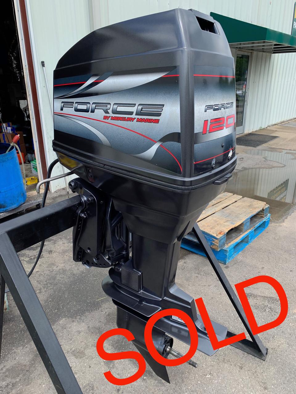 1999 Mercury/Force 120 HP 4 Cylinder Carbureted 2-Stroke 20