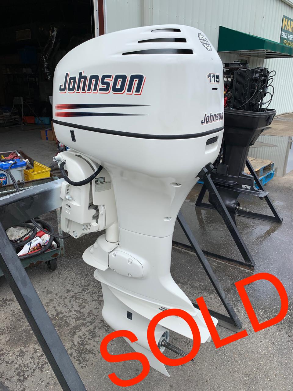 2004 Johnson 115 HP V4 Carbureted 2 Stroke 25