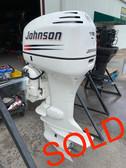 "2004 Johnson 115 HP V4 Carbureted 2 Stroke 25"" (XL) Outboard Motor"