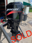 """2001 Mercury 125 HP 4 Cylinder Carbureted 2 Stroke 20"""" (L) Outboard Motor"""