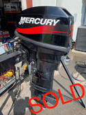 "2003 Mercury 25 HP 2 Cylinder Carbureted 2 Stroke 20"" (L) Outboard Motor"