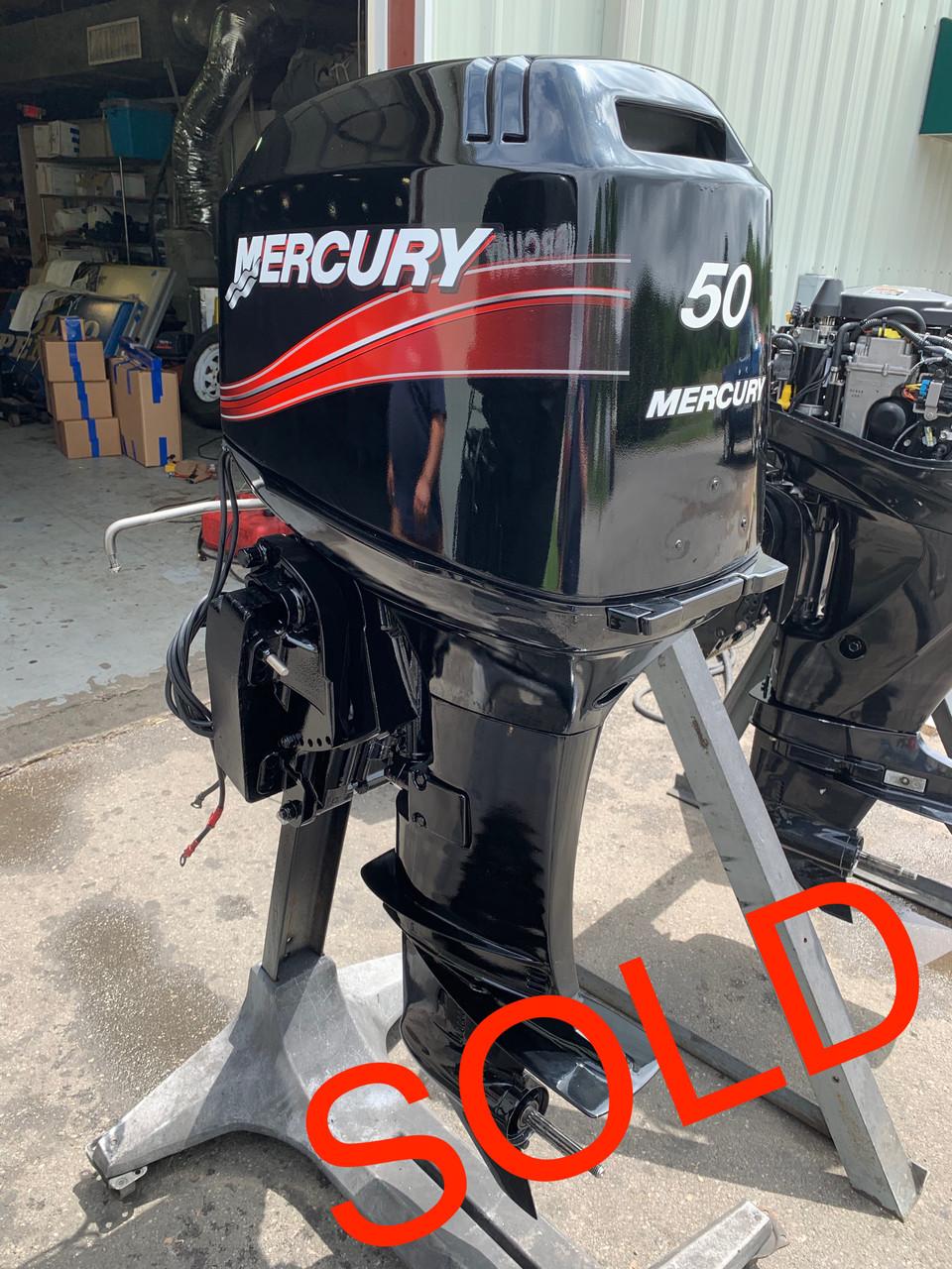 2004 Mercury 50 HP 3 Cylinder 2 Stroke 20