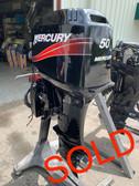 "2004 Mercury 50 HP 3 Cylinder 2 Stroke 20"" (L) Outboard Motor"