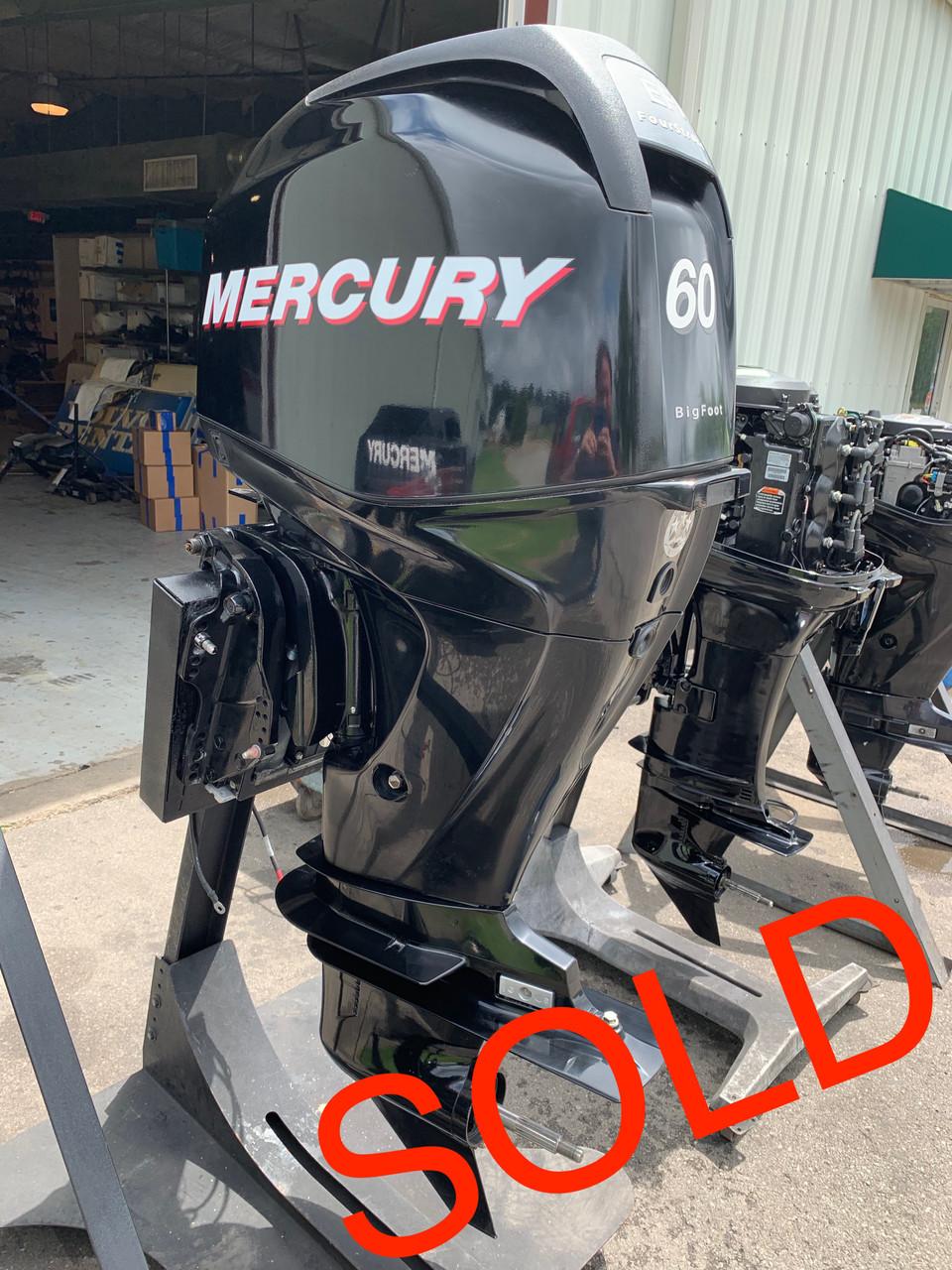 2011 Mercury 60 HP 4 Cylinder EFI 4 Stroke 20