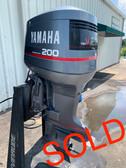 """1991 Yamaha 200 HP V6 Carbureted 2 Stroke 20"""" (L) Outboard Motor"""