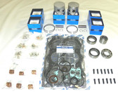 New Yamaha 150-225 HP V6 90° Carbureted Powerhead [Horizontal Reeds] Rebuild Kit [1993-2008]