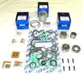 New Mercury/Mariner 50-60 HP 3-CYL Powerhead [1991-1997] Rebuild Kit