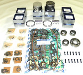 New Mercury/Mariner 135-150 HP 2.5L Carbureted 6-CYL Powerhead Rebuild Kit [1992-2012]