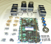 New Mercury/Mariner 175-225 HP 2.4L Powerhead Rebuild Kit [1983-1992]