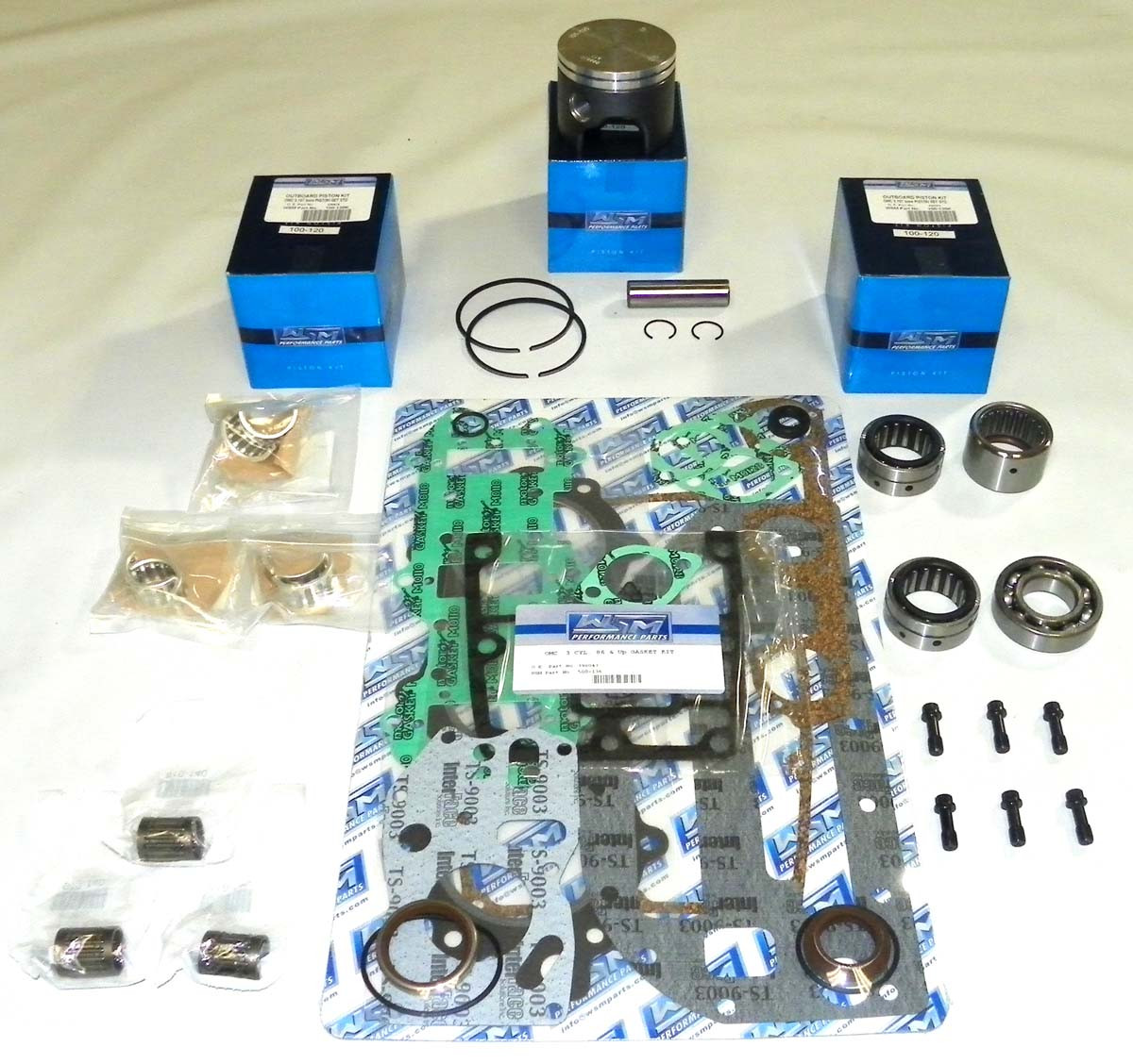 New Johnson/Evinrude 50/60/70 HP 3-CYL Powerhead [1989 and